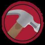 C5 hammer icon